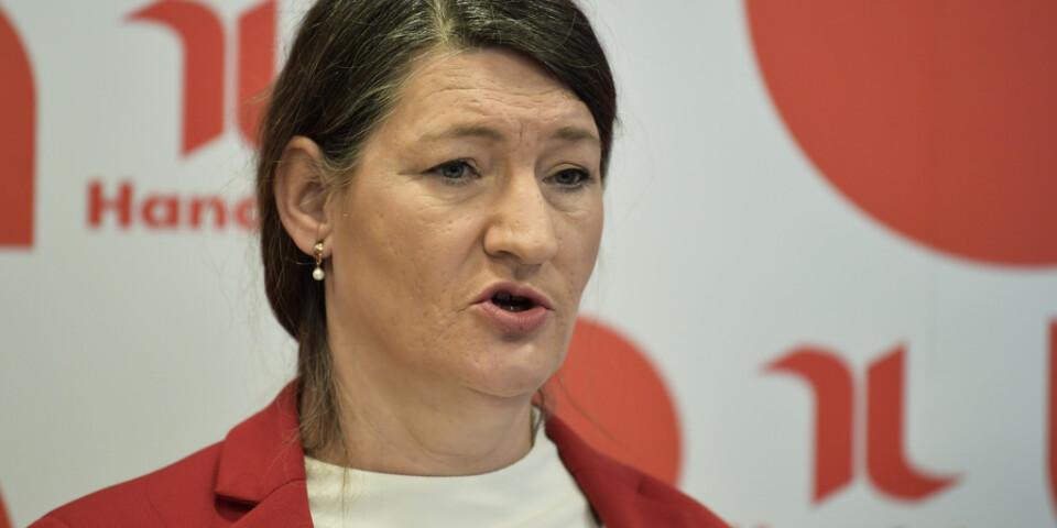 Handels ordförande Susanna Gideonsson är favorit till att bli ny LO-ordförande. Arkivbild.
