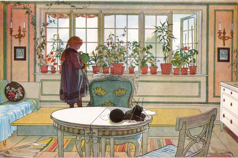 Vill du leva i en Carl Larsson-tavla?
