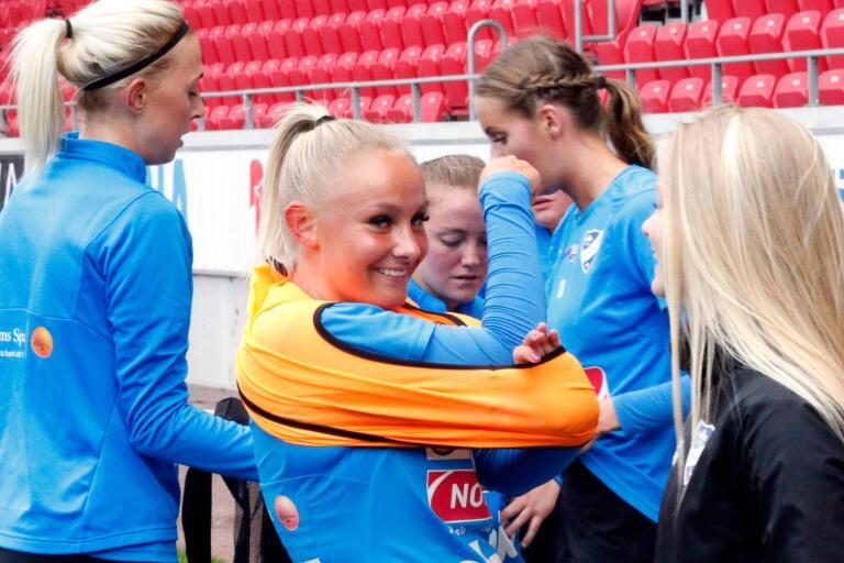Anna Wretmans IFK Kalmar tog steget in på Guldfågeln Arena och gjorde sin första träning där. Men det är inte förrän nästa säsong som laget lämnar Gröndal och flyttar dit sin elitverksamhet.