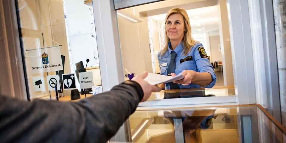 Domen mot Sverigedemokraternas Christoffer Larsson lämnades ut av Blekinge tingsrätt under torsdagen.