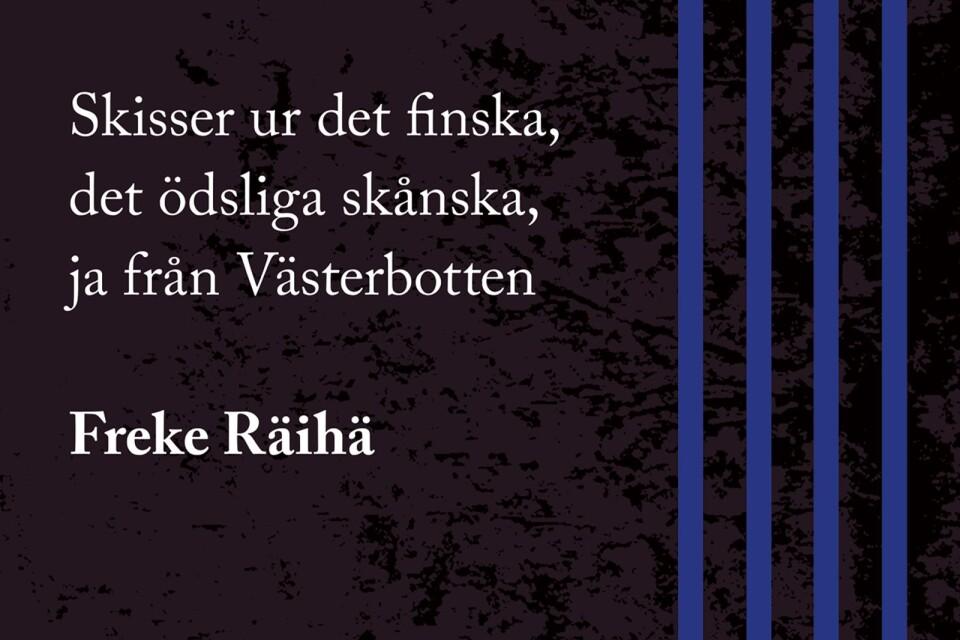 Freke Räihäs nya bok.
