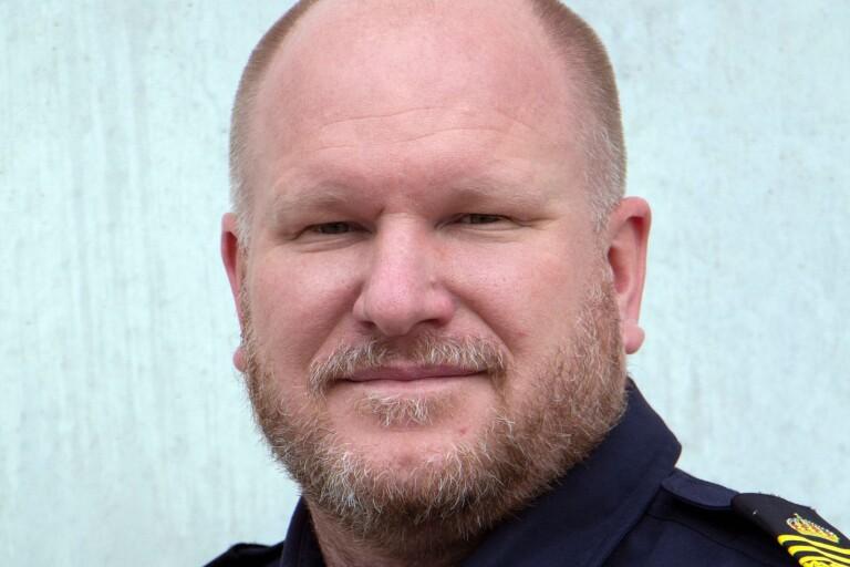Linus Vandrevik, lokalpolisområdeschef för Kalmar och Öland.