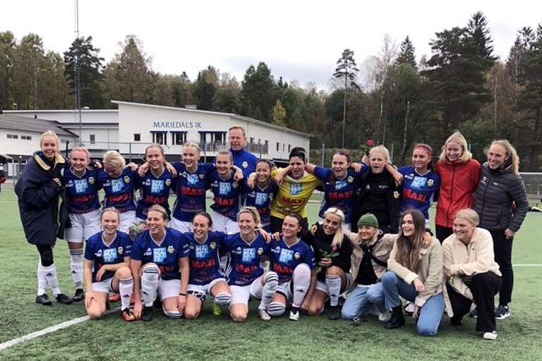Mariedal tar andraplatsen – klart för division II