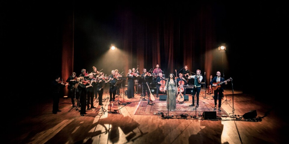 """""""I en större värld..."""", konsertturné med Tarabband och Musica Vitae. Premiär i onsdags kväll i Malmö. Nu väntar Växjö och Kristianstad."""