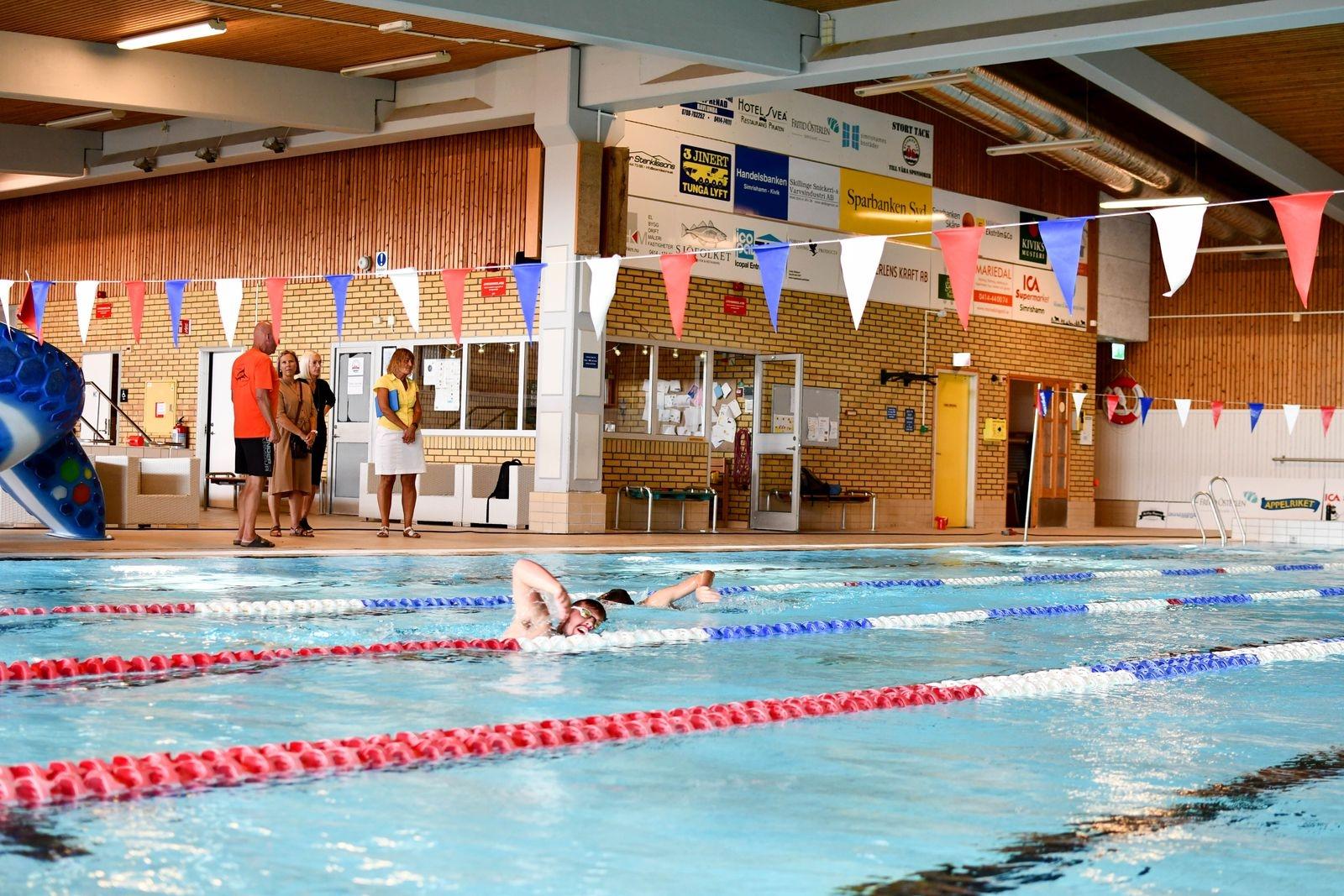 Kiviks simklubb har nyligen flyttat in träningarna i Korsavads simhall för säsongen.