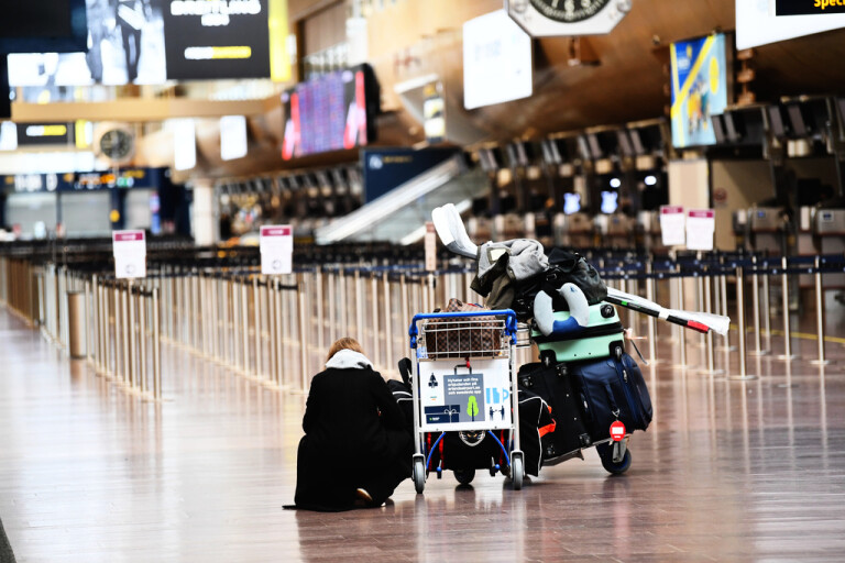 Resenärer från Sverige behöver inte längre sitta i karantän vid ankomst till Storbritannien. Arkivbild.