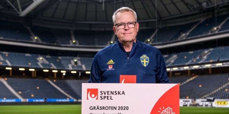 Janne Andersson, förbundskapten för det svenska herrlandslaget.