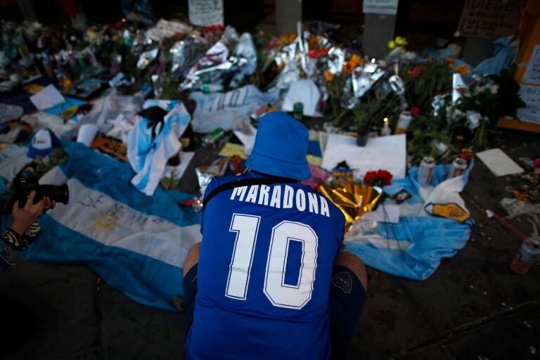 """Norrbyspelaren: """"Ingen corona eller politik – bara Maradona"""""""