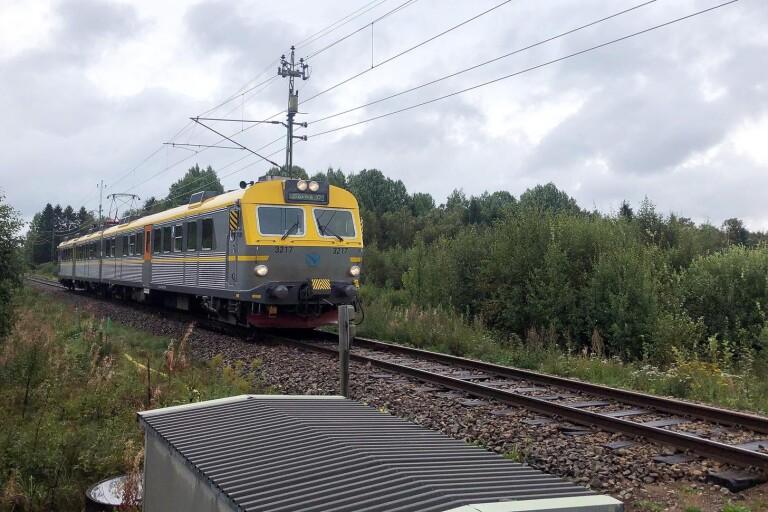 Arkivbild. Västtågen mellan Herrljunga och Borås.