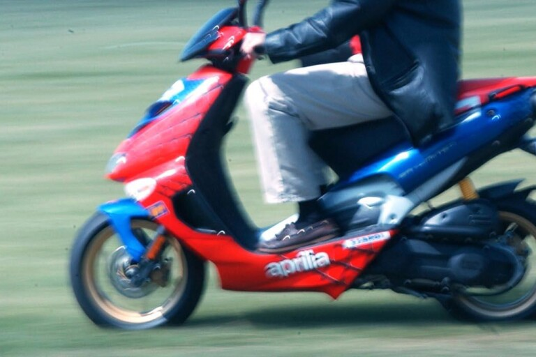 Mopedist misstänks för rattfylla