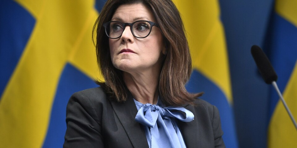 Arbetsmarknadsminister Eva Nordmark dömer ut utredningen om Las.