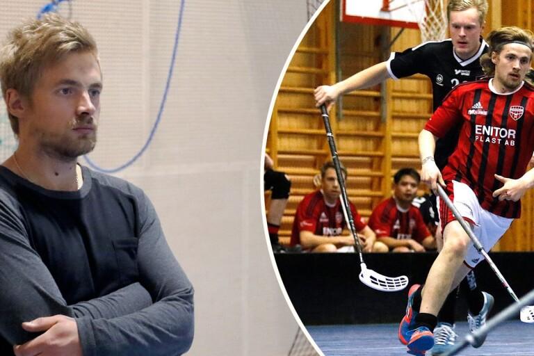 Andreas Andersson var med och startade upp Södra Vings herrlag. Nu siktar han och laget mot nya mål i division 3.