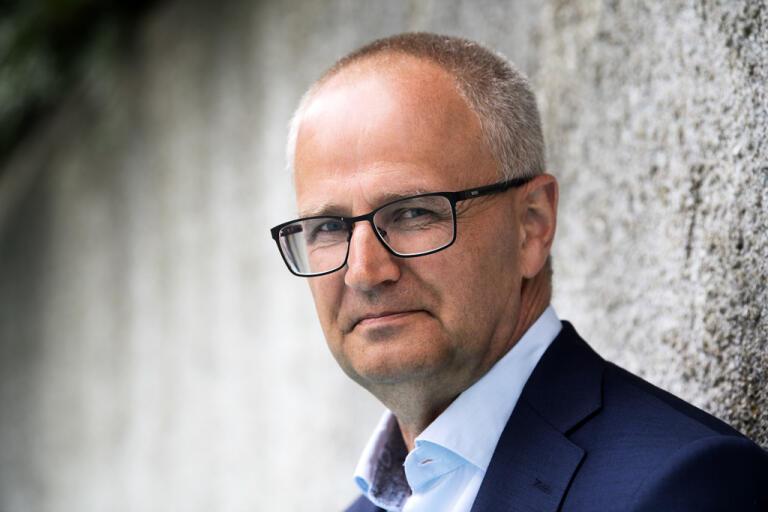 Palle Borgström, riksförbundsordförande för Lantbrukarnas riksförbund. Arkivbild.