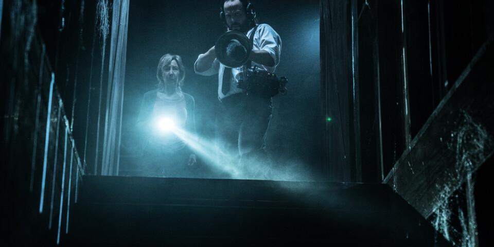 """Försökspersonerna utsattes bland annat för övernaturlig fasa, som filmen """"Insidious"""". Pressbild."""