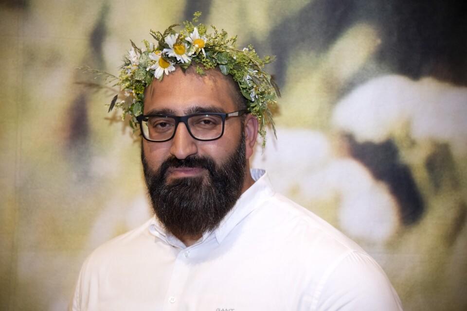 Hamid Zafar har under år spritt hat via trollkonton på nätet.
