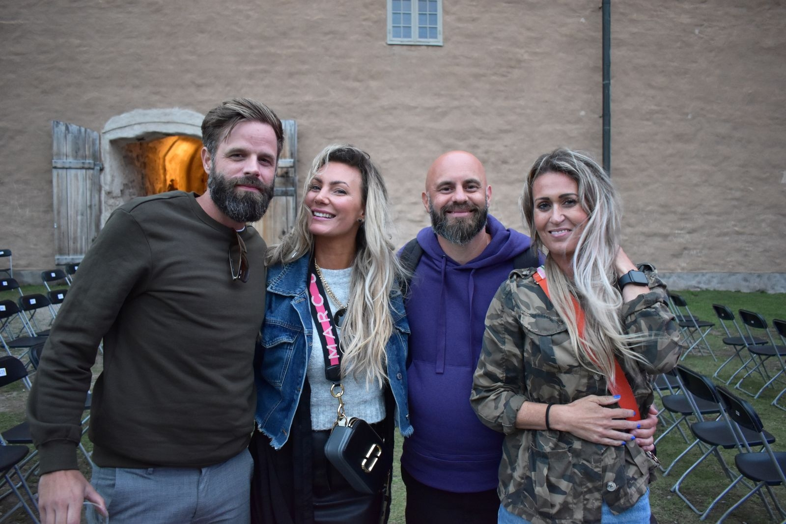 Andreas Radovic, Michelle Fendrik, Tobias Klintheim och Sofi Sjöström.