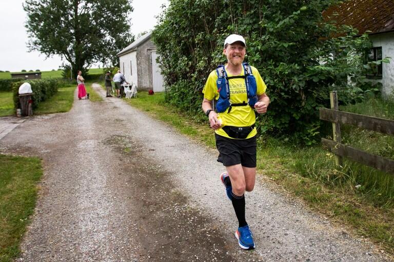 Löpare sprang långlopp – mer än dubbla maraton