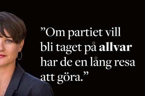 Hanna Grahn: SD lever inte upp till sitt eget partiprogram