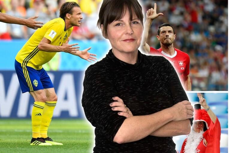 Lena Kvist: Heja Schweiz... eller, vänta nu