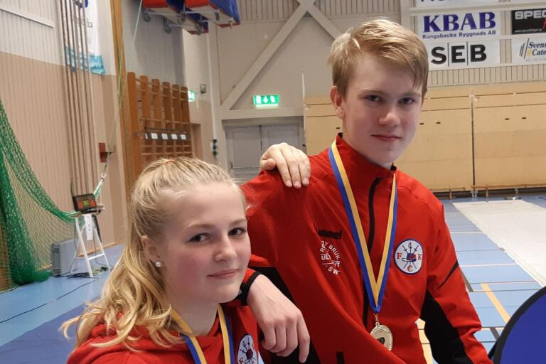 FK Chapman-duon Engla Sennerlin Holm och Emil Forsman blev tvåa och etta när masterssäsongen summerades.