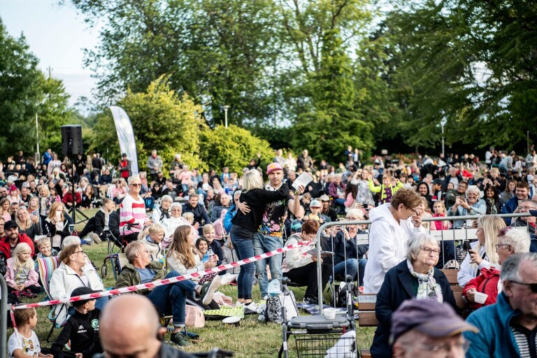 Allsång in Linnéparken is cancelled