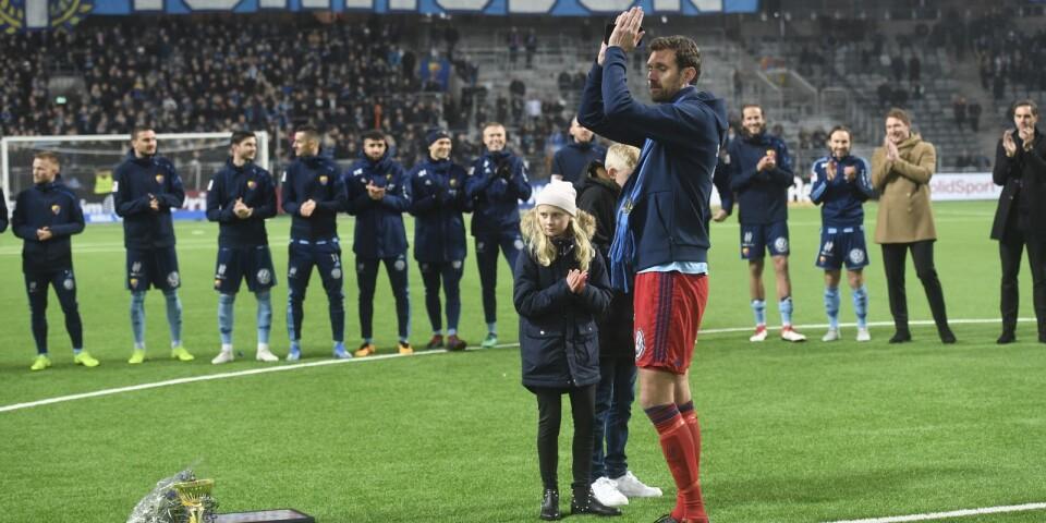 Andreas Isaksson hyllades.