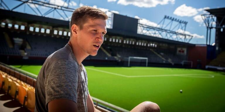 Tysklandsproffset Joakim Nilsson fick hoppa in i den andra halvleken för sitt Arminia Bielefeld borta mot Emil Forsbergs RB Leipzig.