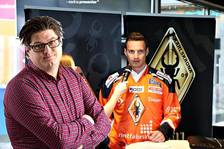 Blekingesports Björn Skarpsvärd tycker till om att Phil Horsky lämnar KHK.