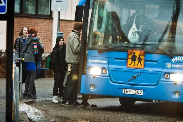 Till skolan utan taxi
