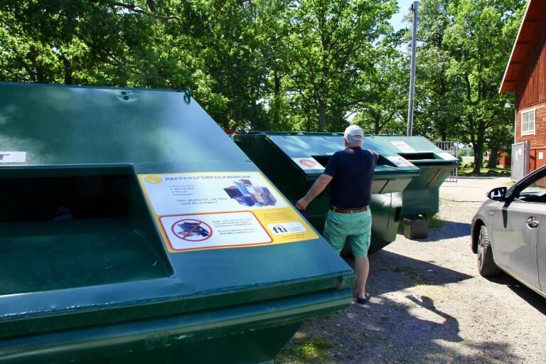 Föreslår krav för bygglov av återvinningsstation