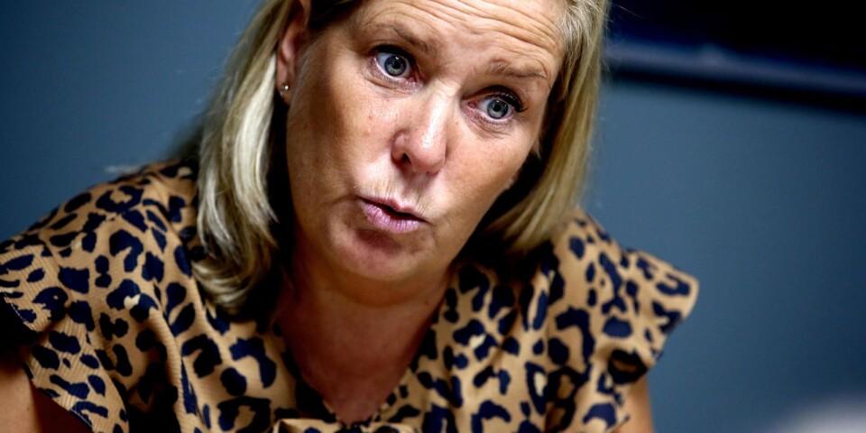 """Malin Sjölander (M): """"Efter skattehöjningen som föreslagits av majoriteten får Region Kalmar län landets fjärde högsta regionskatt. Det hämmar tillväxten."""""""