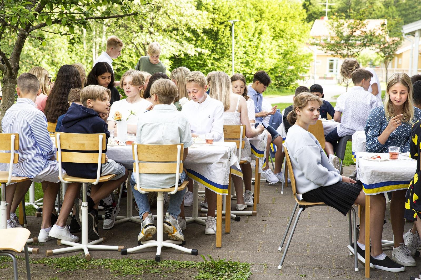 Skolavslutning Ulrikaskolan,