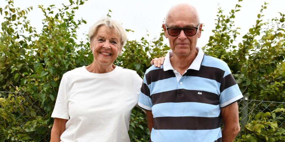 Mimmi och Thomas Lundström är två av fritidshusens blivande andelsägare.