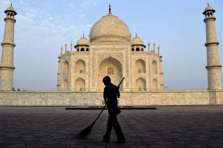 Indien öppnar Taj Mahal igen