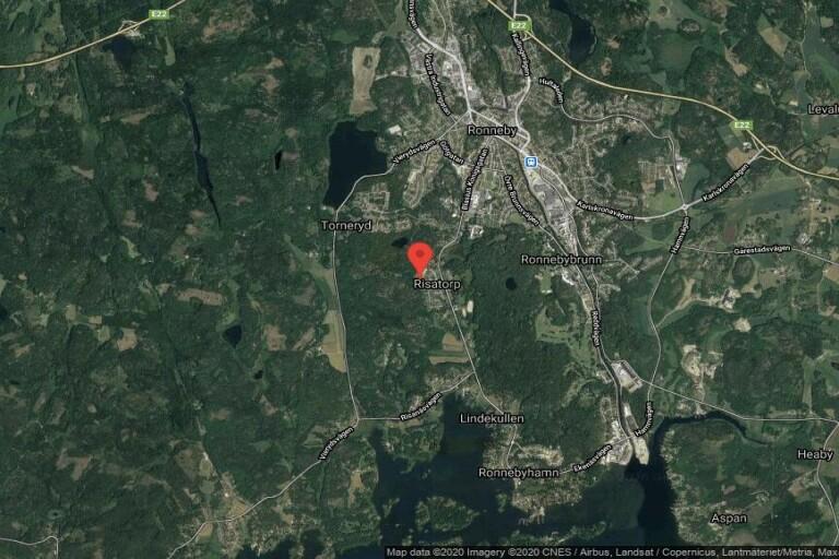 Fastigheten på Östra Varevägen 18 i Ronneby får ny ägare