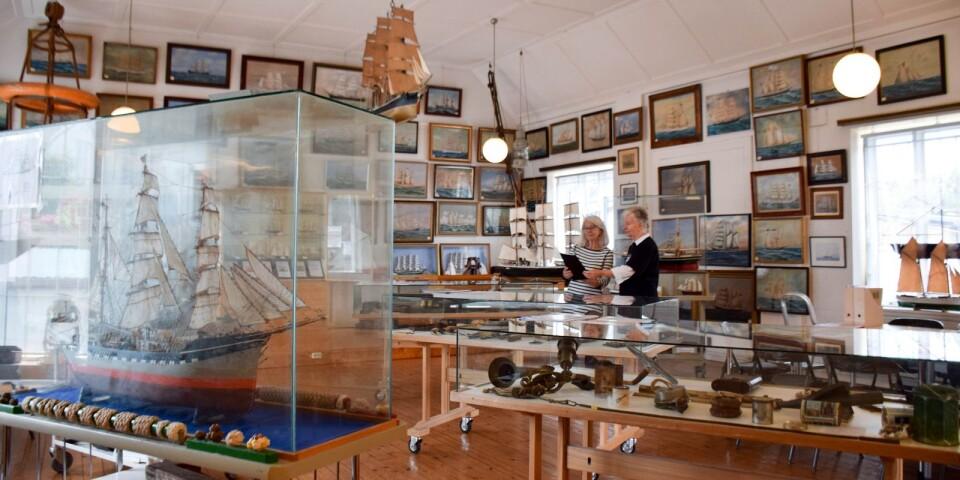 Sjöfartsmuseet Hoppet öppnade för besökare 1955. – Ibland kan det vara svårt att få besökarna att ta steget in över tröskeln men när de väl kommit in blir alla väldigt entusiastiska, säger Gunilla Olsson, ledamot i stiftelsen Hoppet.