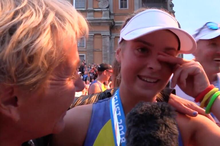 TV: Alla i tårar när Ironmans yngsta deltagare gick i mål