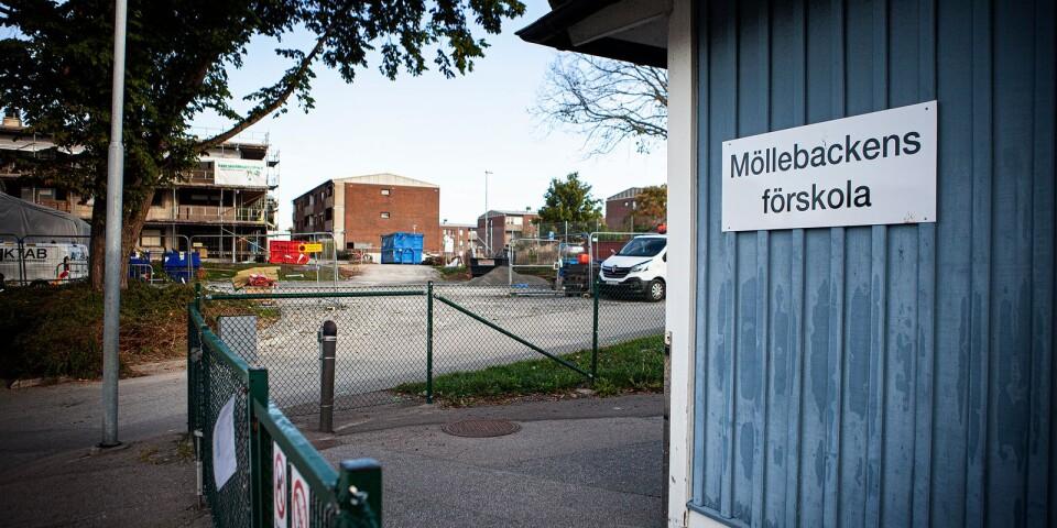 Möllebackens förskola i Karlshamn kan ha gift i marken.