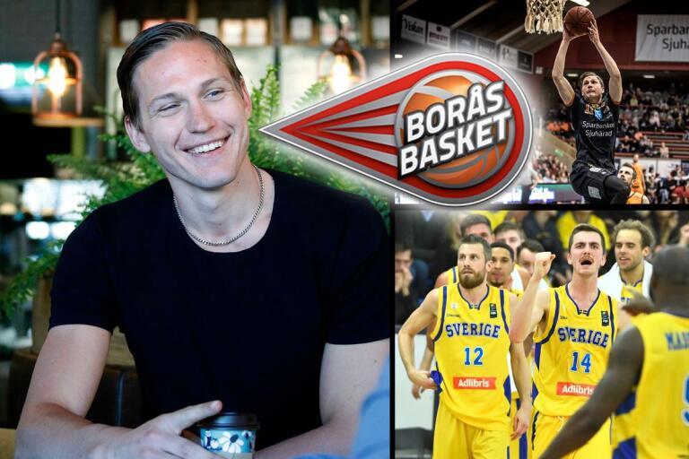 Simon Gunnarsson är den anonyme nyckelspelaren i Borås Basket som tack vare sitt starka försvarsspel skapat intresse hos landslagsledningen.