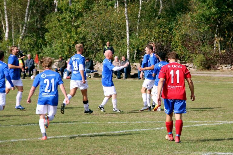 IFK Påryd skaffade sig en 2-1-ledning under de första 45 minuterna och kunde sedan hålla undan i andra halvlek.