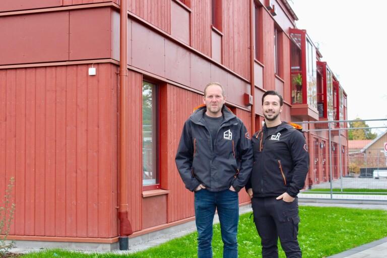 Följ med in i Wasa Seasides första färdiga lägenhetshus