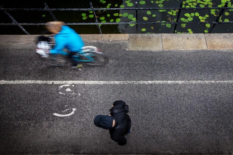 Svaret: Fler gång- och cykelvägar ska separeras i Borås