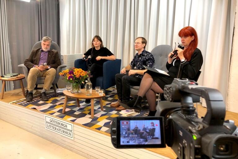 Bokmässan: Se dagens samtal från Göteborgs litteraturhus