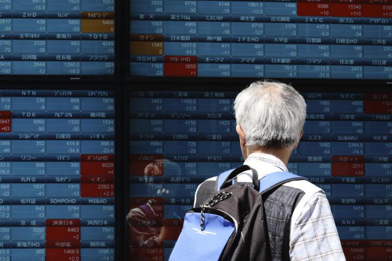 Börserna i Asien stiger. Arkivbild.