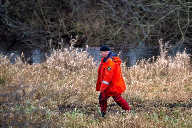 Nya dyk – polisen fortsätter söka i Vramsån