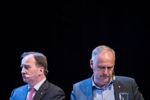 Uppgifter: V lutar åt nej till Löfven som statsminister