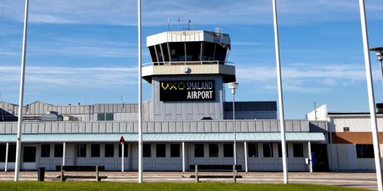 Ambulansflyg har nekats landa på flygplatsen i Växjö