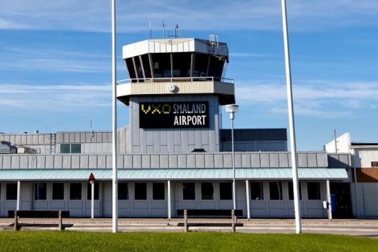 Ambulansflyg nekades landa i Växjö – flög till Kalmar