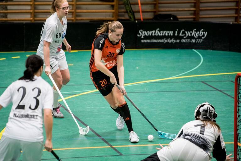 Alma Johannisson gjorde två mål mot Craftstaden.
