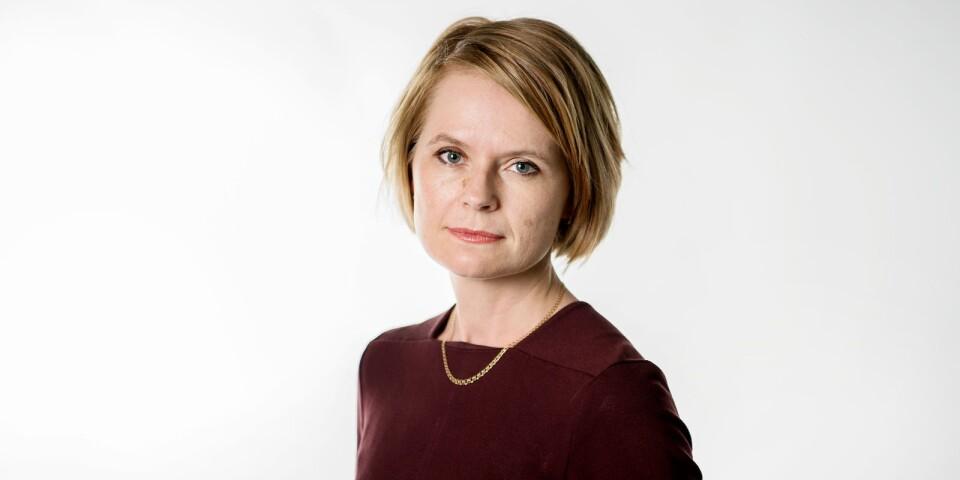 Kristina Bingström, chefredaktör för Smålandsposten.